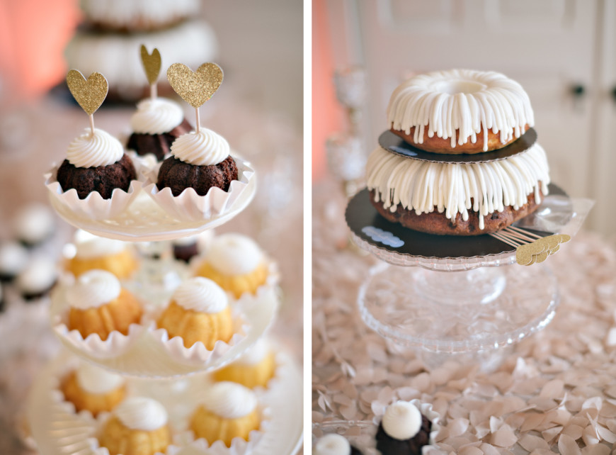 Nothing Bundt wedding cakes